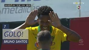 Guarda-redes do Portimonense facilitou e Bruno Santos deu vantagem ao P. Ferreira