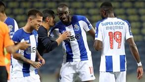FC Porto-Moreirense, 6-1: descompressão corrigida à campeão