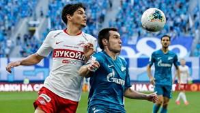 Rubin Kazan-Spartak Moscovo: duelo entre formações do meio da tabela