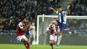Sp. Braga-FC Porto: minhotos a sonhar com o pódio