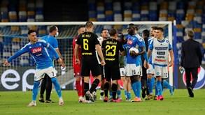 Inter de Milão-Nápoles: jogar as últimas cartadas