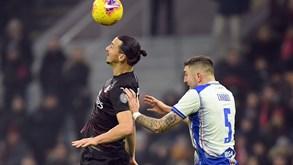 Sampdoria-AC Milan: equipa de Rafael Leão em boa fase