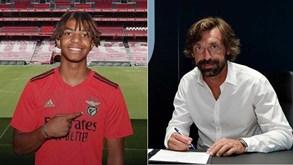 Mercado: Benfica contrata promessa italiana, Juve resgata Pirlo e Nápoles com a 2.ª maior transferência do defeso