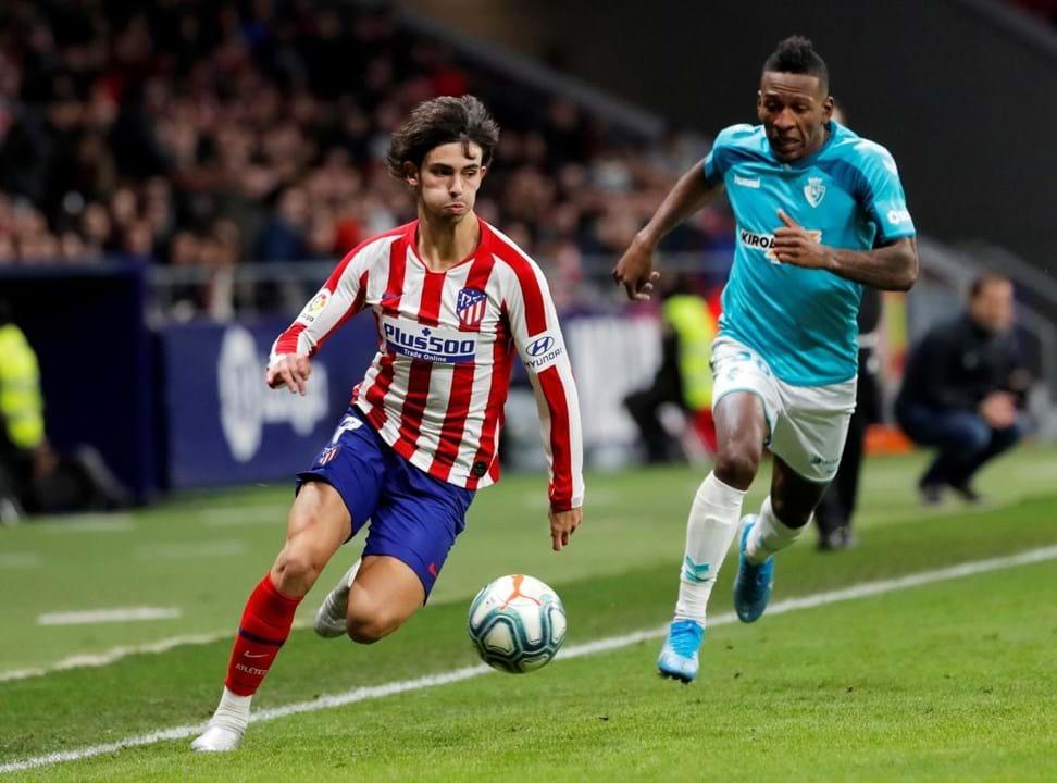 João Félix (At. Madrid) - 'O Atlético pagou 126 milhões de euros pelo Golden Boy de 2019, mas tem sentido dificuldades para substituir Griezmann ou para encontrar a sua posição'