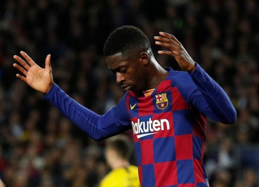 Ousmane Dembélé - Foi contratado ao Borussia Dortmund em 2017 por 138 milhões de euros. Continua na equipa.