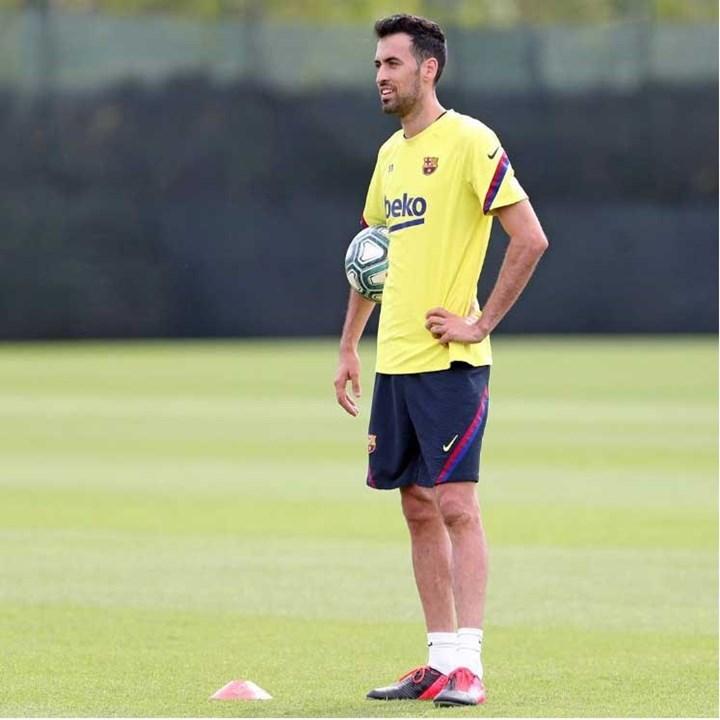 Sergio Busquets - formado no clube