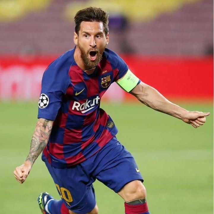 Lionel Messi - formado no clube