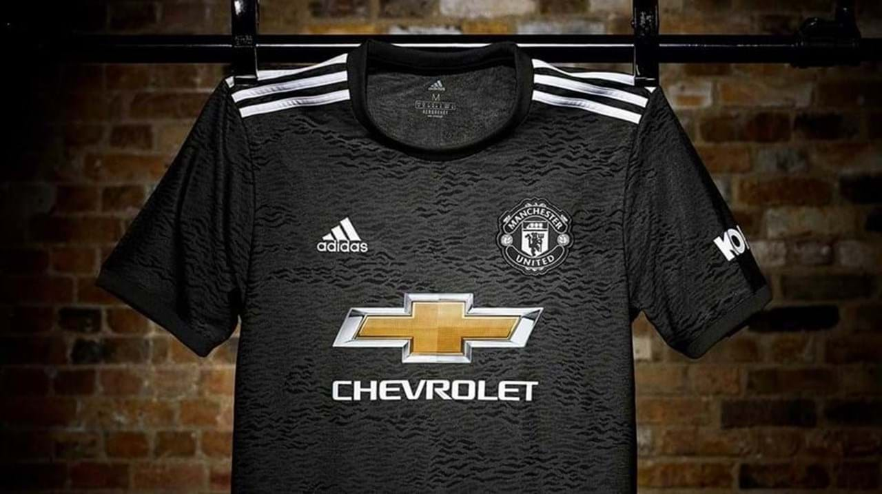 Segundo equipamento do Manchester United para 2020/21
