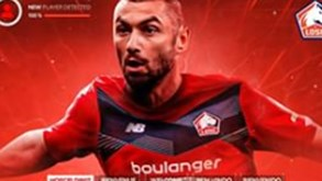 Lille contrata Burak Yilmaz