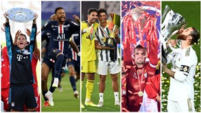 Campeões, posições europeias e descidas: resumo dos cinco principais campeonatos