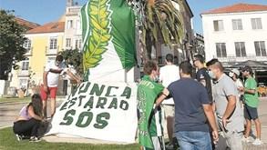 Adeptos do V. Setúbal marcam nova manifestação para hoje