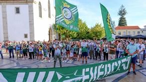 Dois mil sadinos saíram à rua para exigir readmissão do V. Setúbal na Liga NOS