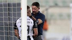 Paulo Sérgio: «Merecíamos ter sido felizes em campo»