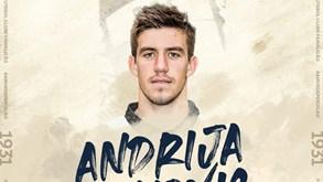 Andrija Lukovic reforça meio-campo do Famalicão