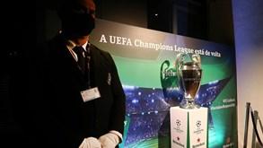 Começa a febre da Champions: a taça mais desejada já está em Portugal