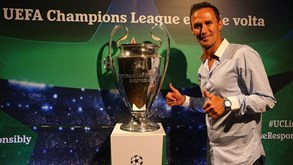 Troféu da Champions já está em Lisboa
