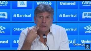 Treinador do Grémio arrasa Jorge Jesus: «Tentou fazer a cabeça do Everton para não entrar em campo»