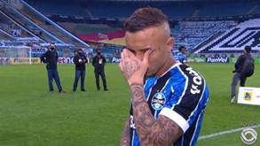 Cebolinha despede-se do Grémio em lágrimas: «Benfica? A situação está bem avançada»