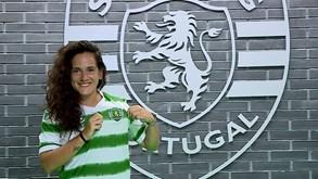 Ana Alves é reforço da equipa de futsal feminino do Sporting