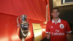 Alexandre Penetra: «Saio do Benfica ao fim de sete anos após crescer muito como jogador e homem»