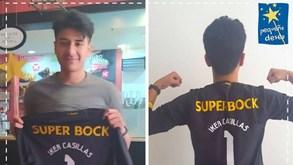 Iker Casillas envia camisola do FC Porto a jovem com doença grave