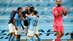 A crónica do Man. City-Real Madrid, 2-1: Bernardo e Cancelo de regresso a lisboa