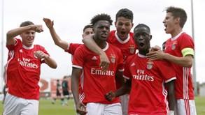 Talentos da formação do Benfica vão mostrar-se a Jesus
