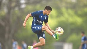 Lucas Robertone: «Falei com Battaglia sobre o Sporting»