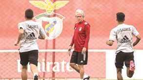 Jorge Jesus entra a todo o gás no Benfica