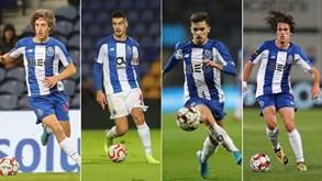 Jovens podem render 100 milhões de euros ao FC Porto