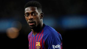 Barcelona com novidade nos convocados: Ousmane Dembélé viaja para Lisboa