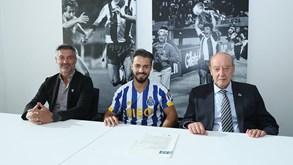As primeiras imagens de Carraça como jogador do FC Porto