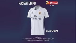 Ganhe uma camisola do Real Madrid com o Record e a Eleven Sports