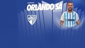 Orlando Sá assina pelo Málaga