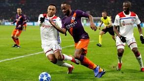 Manchester City-Lyon: candidatos contra a surpresa