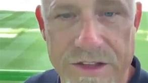 Peter Schmeichel de regresso a Alvalade: «É bom estar de volta»