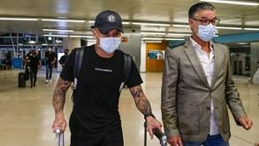 Dupla milionária do Benfica já cá está