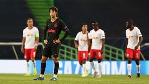 RB Leipzig-At. Madrid, 2-1: João Félix não chegou para segurar o touro