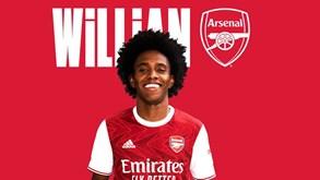 Willian deixa Chelsea e assina pelo rival Arsenal