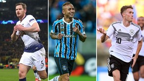 Oficial: Vertonghen, Everton e Waldschmidt reforçam Benfica