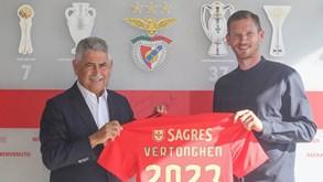 Vertonghen: «Vim para o Benfica porque tem a mesma ambição do que eu: ganhar títulos»