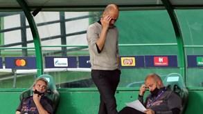 Guardiola gastou 800 milhões em reforços e não passou dos quartos-de-final da Champions