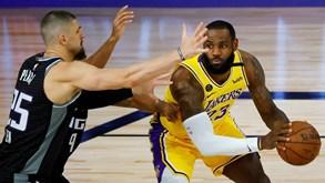 LA Lakers-Trail Blazers: eis o primeiro duelo nos 'oitavos' do play-off da NBA