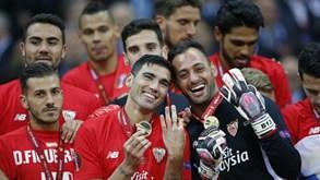 Onze contra onze e na final está... o Sevilha: «Temos uma pele diferente na Liga Europa»
