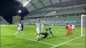 Os golos do Sporting diante do Belenenses SAD
