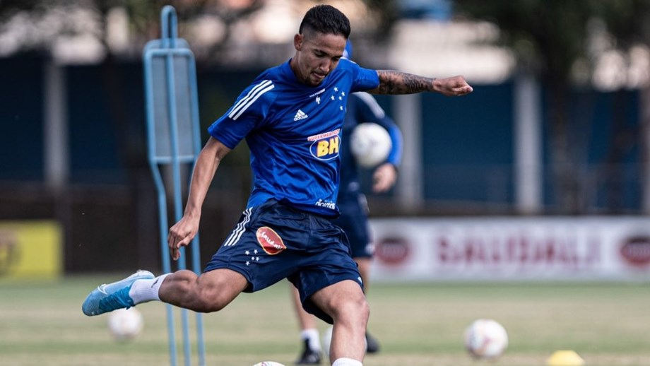 APOSTA. Extremo esteve cedido pelo Grémio ao Cruzeiro