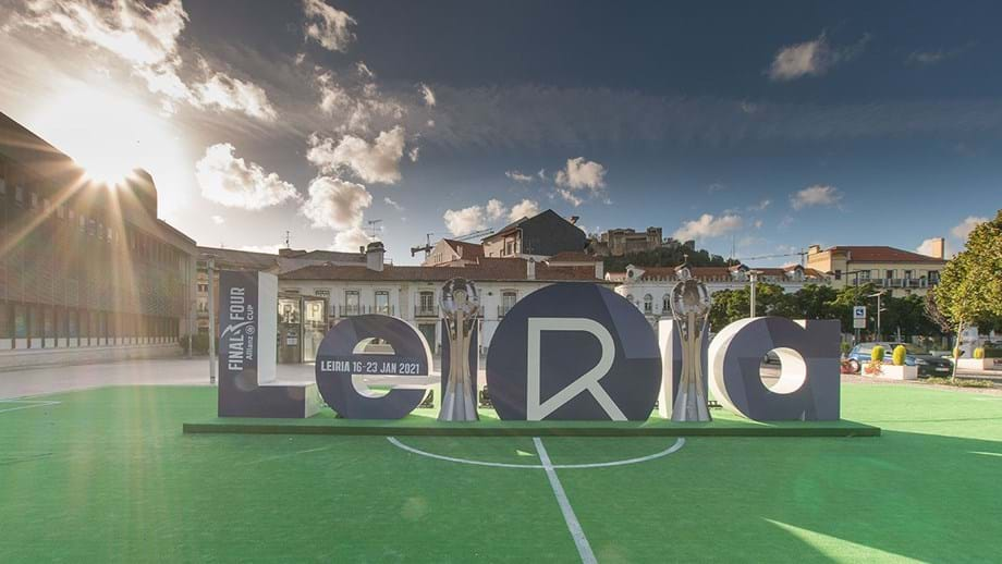 Leiria acolhe três próximas edições da final four da Allianz Cup