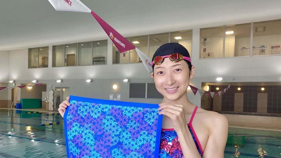 Rikako Ikee regressa à competição após combater uma leucemia