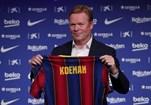 Ronald Koeman quer levar o Barcelona novamente ao topo. Cruyff e Koeman conheceram-se no Ajax na época 1985/1986