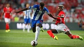 Florentino e o elogio do rival: «Danilo é uma das minhas referências e dá-me motivação»